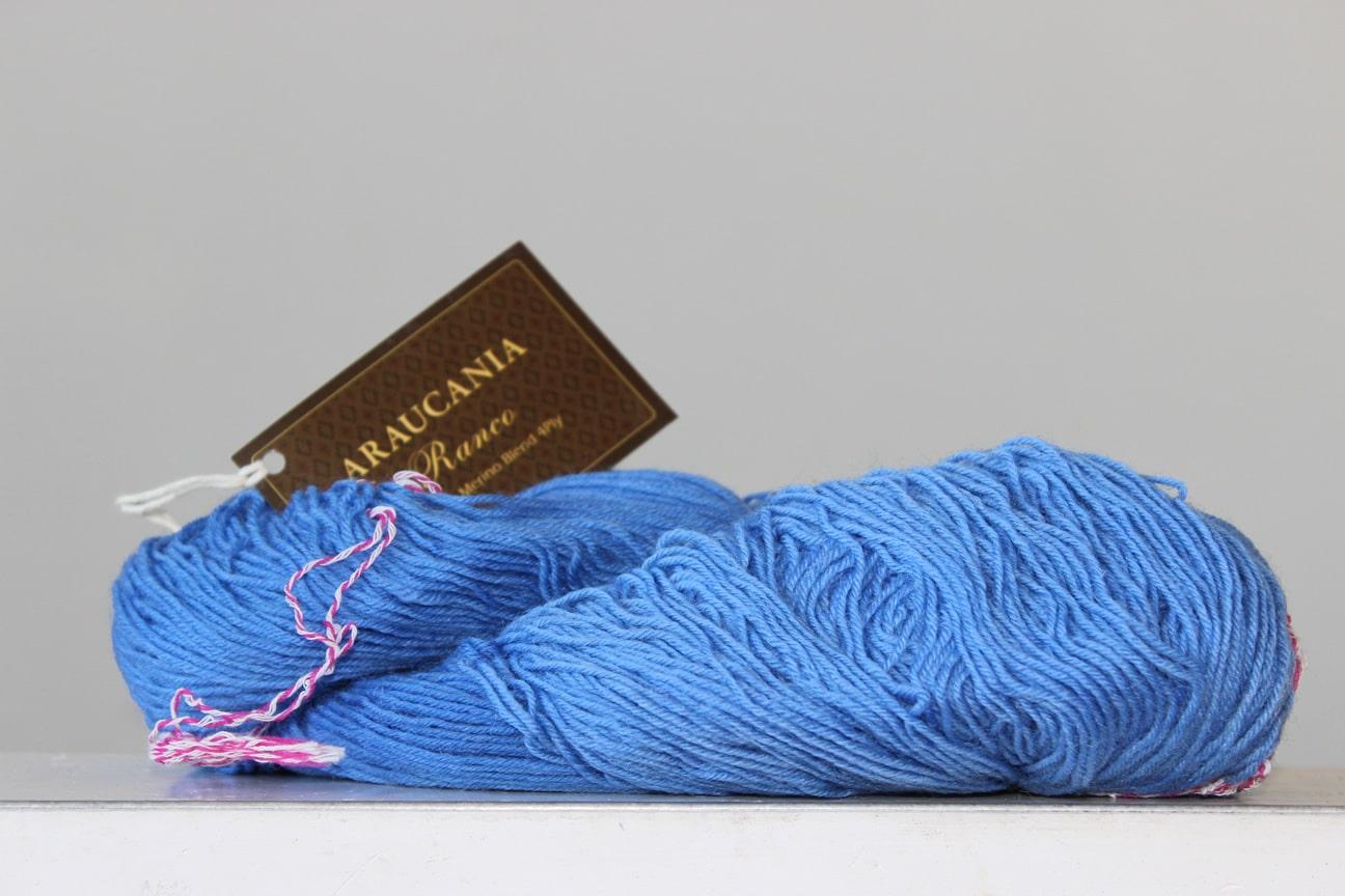 Araucania Ranco sokkenwol hemels blauw