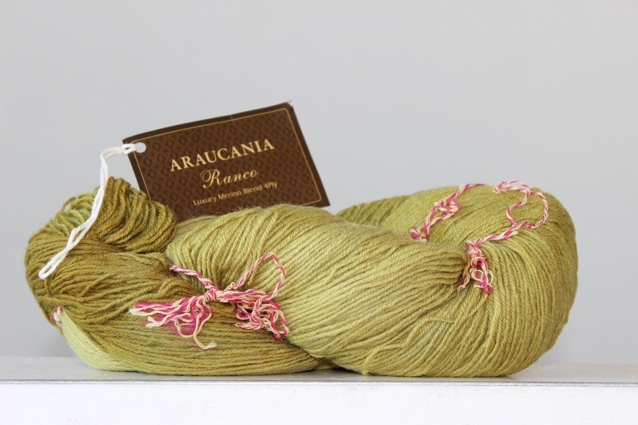 Araucania Ranco sokkenwol limoen