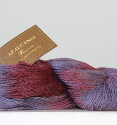 Araucania Ranco sokkenwol aubergine