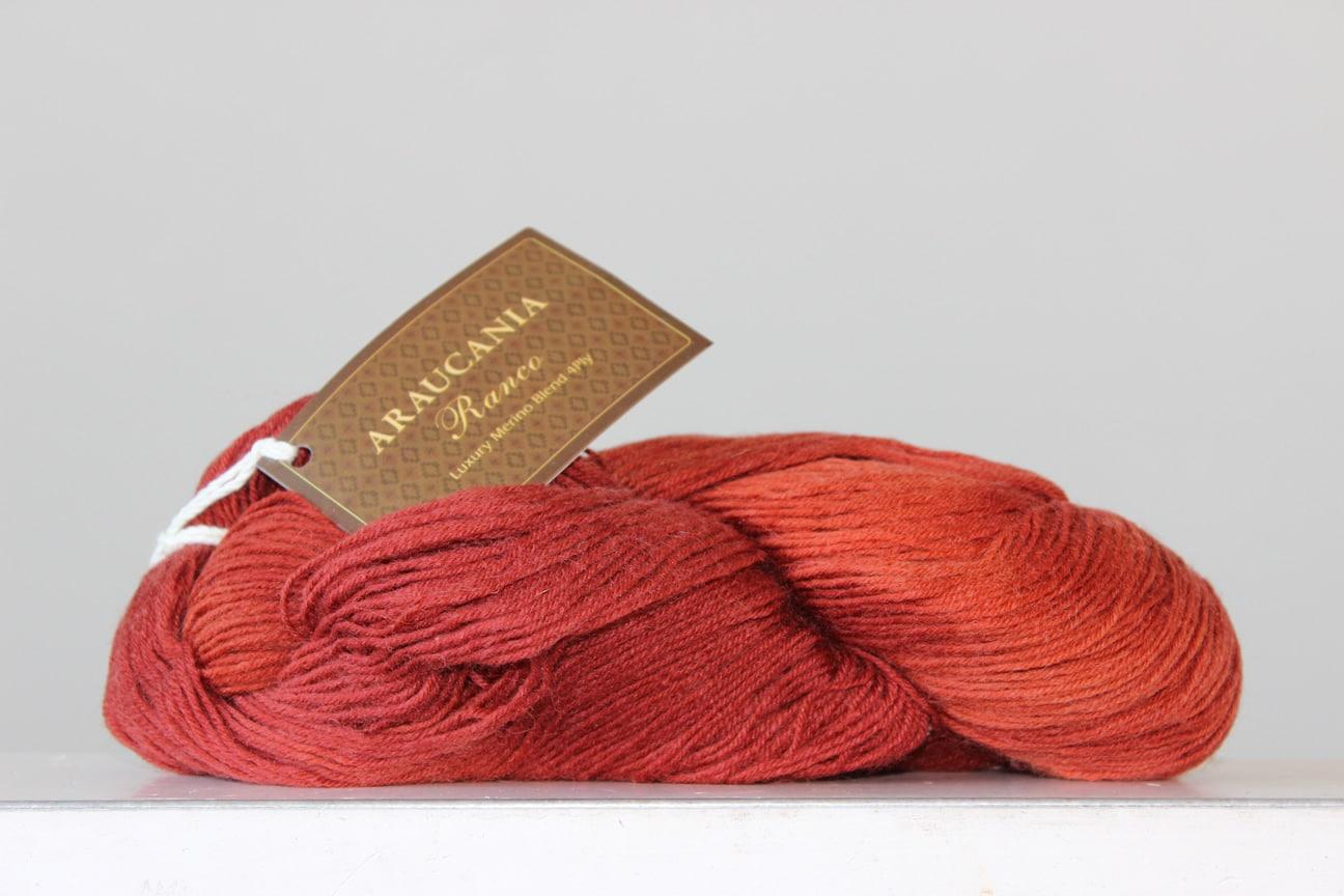 Araucania Ranco sokkenwol avondrood