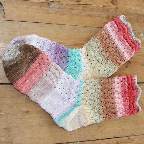 Glamour sokken – breien to go sokken