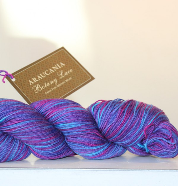 Araucania Botany Lace Blueberry Jelly Belly