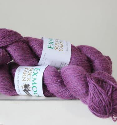 Exmoor sock yarn Heather