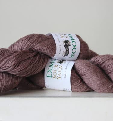 Exmoor sock yarn Smoke